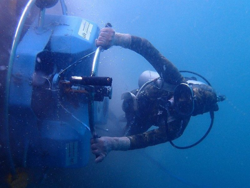Thai Subsea Services Hull Cleaning Thailand