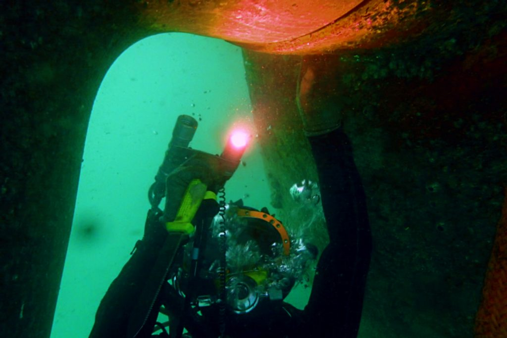Thai Subsea Services Intensive Underwater Inspection