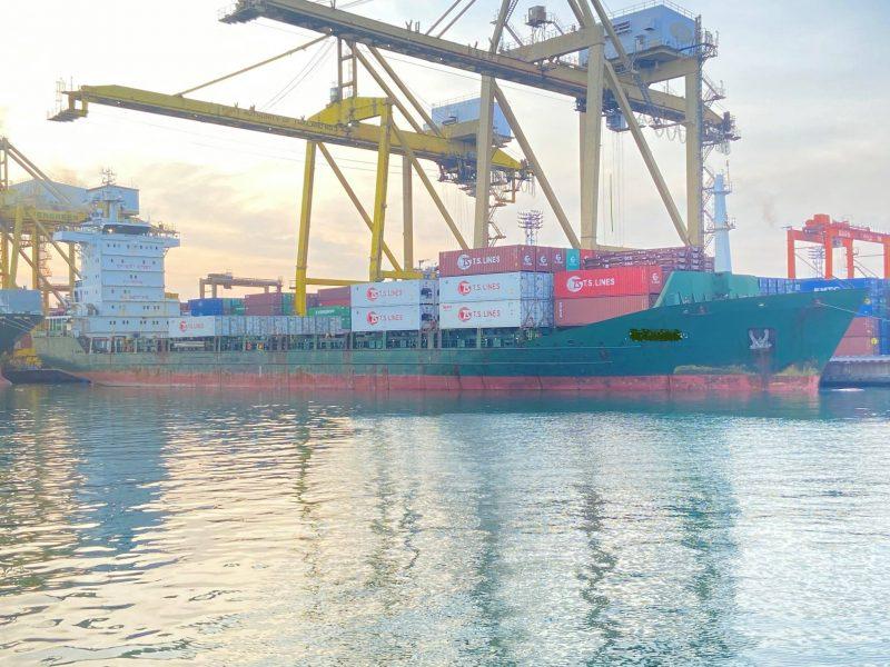 Ship at Laem Chabang