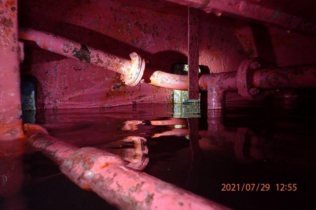 Sea Chest Internal Pipelines