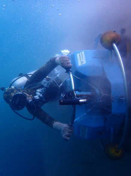 Underwater Hull Cleaning in Thailand
