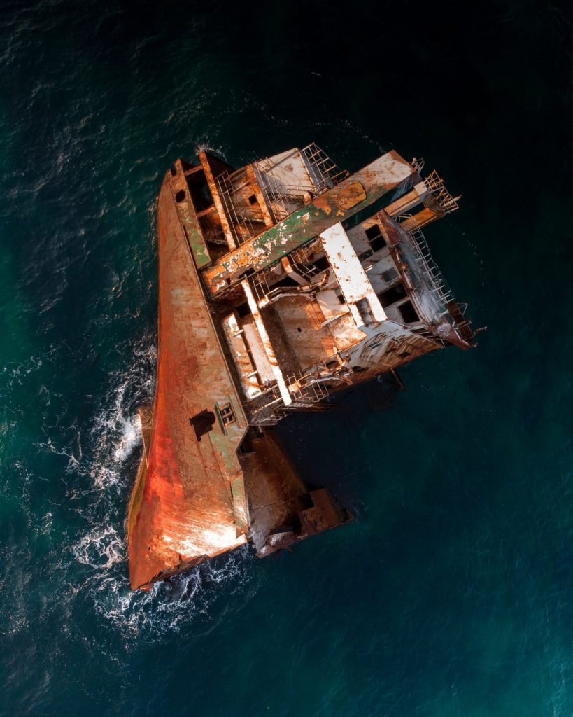 Ship Wrecked and Scrapped